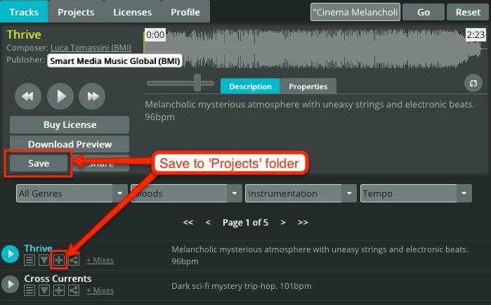 Projects folder #1
